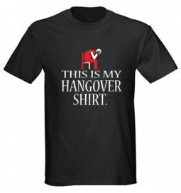 Majica Hangover shirt, črna