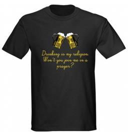 Majica Religion, črna