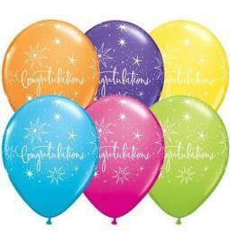 Baloni 25/1 Congratulations, pisani