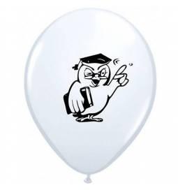 Baloni 10/1 Sova Diplomant, beli