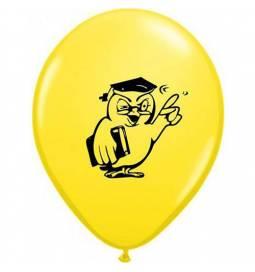 Baloni 10/1 Sova Diplomant, rumeni