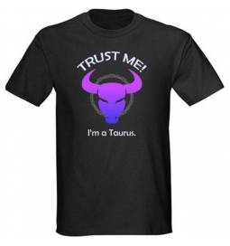 Majica Zaupaj mi, Bik, črna