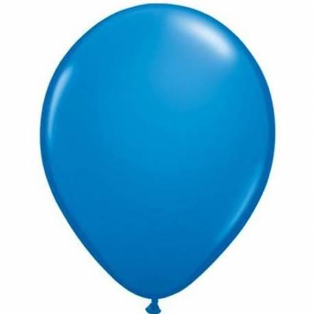 Lateks baloni 13 cm, Temno modri, 100/1