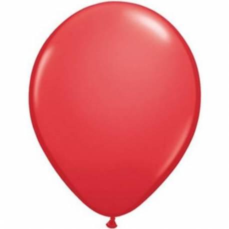 Lateks baloni 13 cm, Rdeči, 10/1