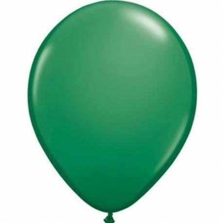 Lateks baloni 13 cm, Temno zeleni, 10/1