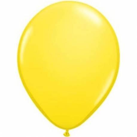 Lateks baloni 13 cm, Rumeni, 100/1