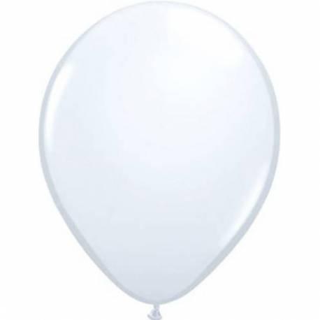 Lateks baloni 13 cm, Beli, 100/1