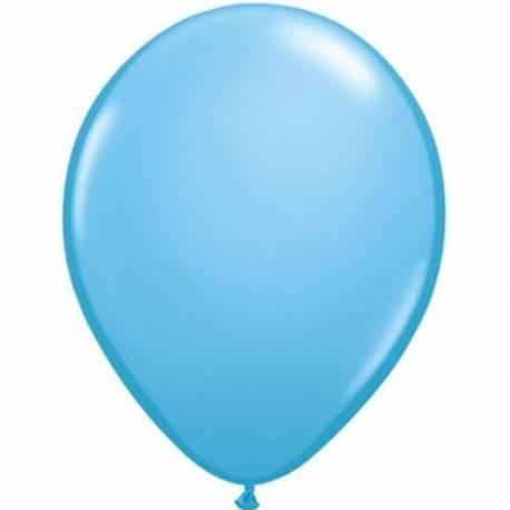 Lateks baloni 13 cm, Svetlo modri, 100/1