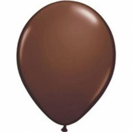 Lateks baloni 13 cm, Čokoladno rjavi, 100/1