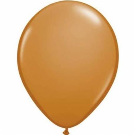Lateks baloni 13 cm, Rjavi, 100/1