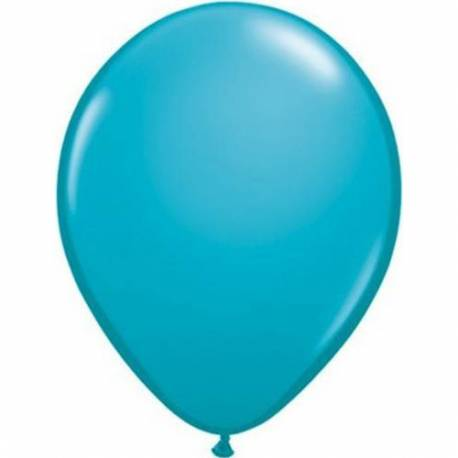 Lateks baloni 13 cm, Tropsko modri, 10/1
