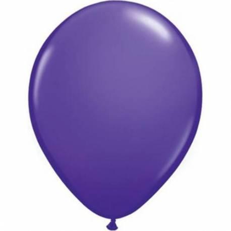 Lateks baloni 13 cm, Temno vijolični, 100/1