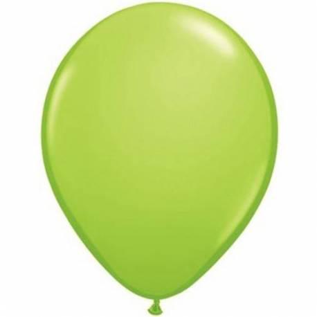 Lateks baloni 13 cm, Svetlo zeleni, 10/1