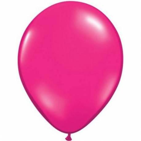 Lateks baloni 13 cm, Jewel magenta, 10/1