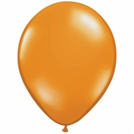 Lateks baloni 13 cm, Prozorni tropsko zeleni, 10/1