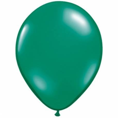 Lateks baloni 13 cm, Prozorni smaragdno modri, 10/1