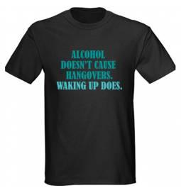 Majica Waking up, črna