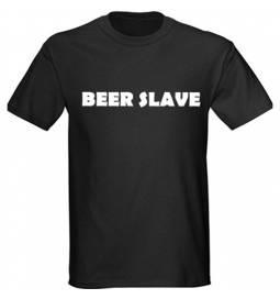 Majica Beer Slave, črna