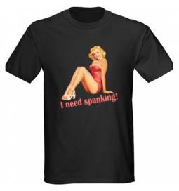 Majica Spanking, črna
