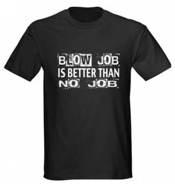 Majica Blow job, črna
