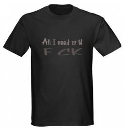 Majica All i need