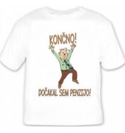 Majica Zaposlen penzionist