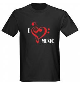 Majica Love music