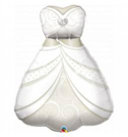 Folija balon Poročna torta, glitter