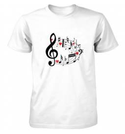 Majica Love music 2