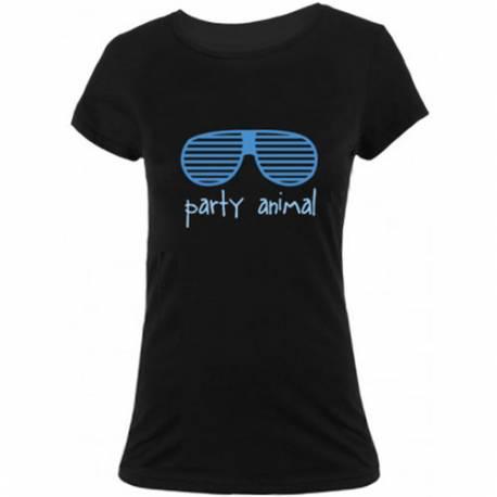 Majica Party Animal, ženska, črna