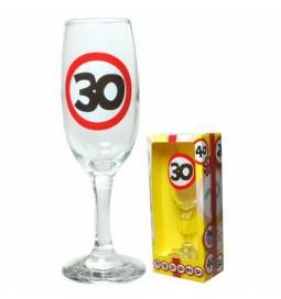 Kozarec za šampanjec 30 let, Stop znak