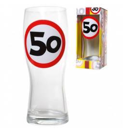 Kozarec za pivo 30 let, Stop znak