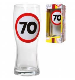 Kozarec za pivo 60 let, Stop znak