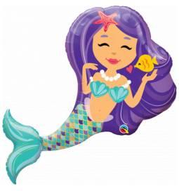 Folija balon Morska deklica