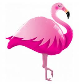 Folija balon Pink flamingo