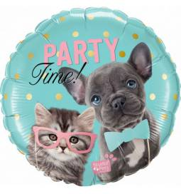 Folija balon Party Time Pets