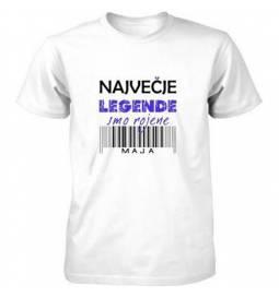 Majica za rojstni dan, Legende maj