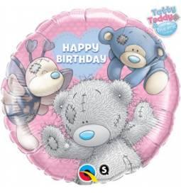 Folija balon Happy Birthday Party Animals