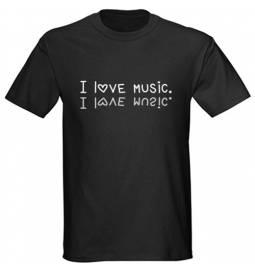 Majica I love Music
