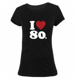 Majica I love 80, ženska