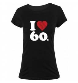 Majica I love 60, ženska