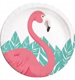 Krožniki 23 cm, Flamingo 8/1