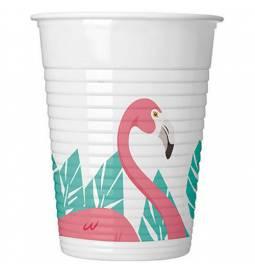 Kozarčki 200 ml, Flamingo 8/1