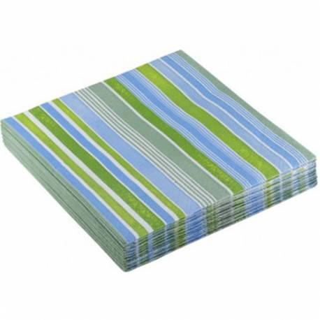 Serviete 33x33 cm, Stripes rumene 20/1