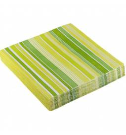 Serviete 33x33 cm, Stripes modre 20/1