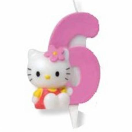 Svečka za 6 let, Hello Kitty