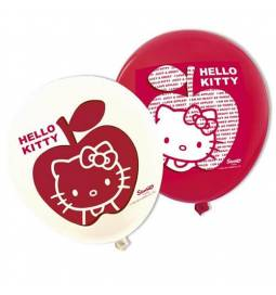 Lateks baloni 28 cm, Hello Kitty Apple 12/1