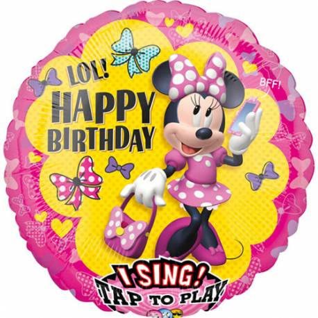 Pojoči balon Minnie Miška