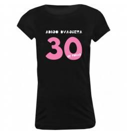 Majica za 30 let, Adijo dvajseta, črna