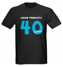 Majica za 40 let, Imam jih 40, črna
